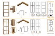 P10 Fermavetri per serramenti interni/esterni