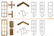 P3 Fermavetri per serramenti interni/esterni
